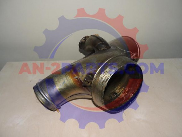 Exhaust manifold with flame tube, Sz6800-0    AN-2